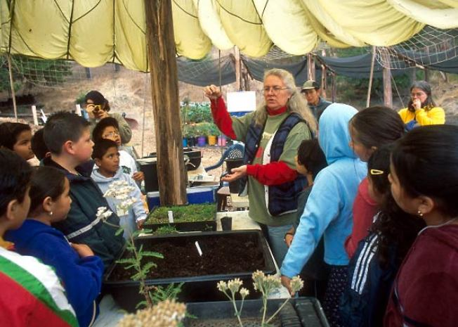 Volunteer Day at the Native Plant Nursery