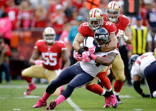 Niners May Be Fine at Inside Linebacker, Even Without Bowman