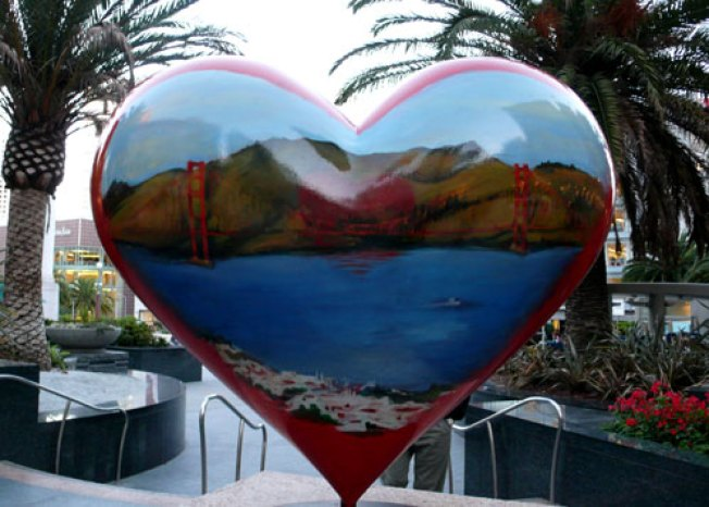 Call for Artist for 2015 'Hearts in San Francisco' Fundraising Project