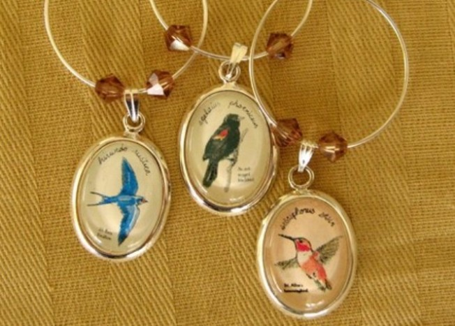 Songbird Wine Charms