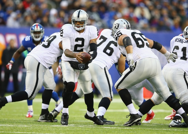 For Raiders, Even 2-7 Texans Are Big Challenge