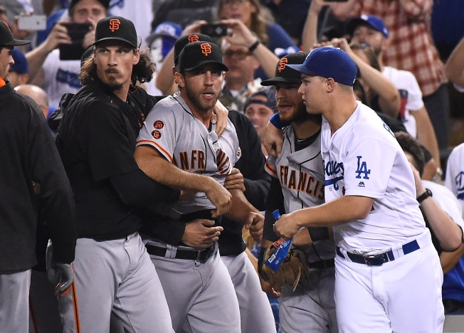 Giants Apologize for Offensive Tweet About Bumgarner's 3 Strikeouts Against Dodger Enrique Hernandez