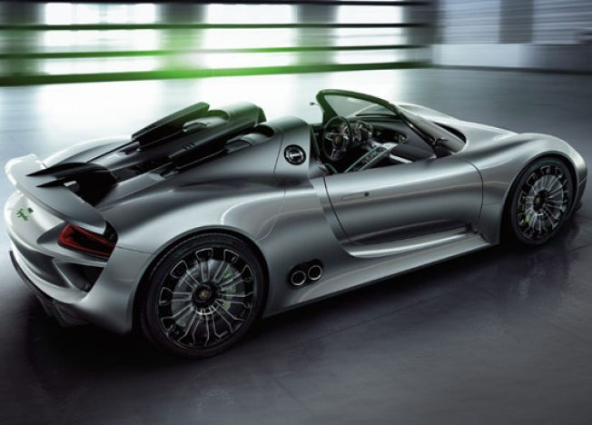 It's Official, Porsche Now Has the Coolest Hybrid Sports Car on the Planet