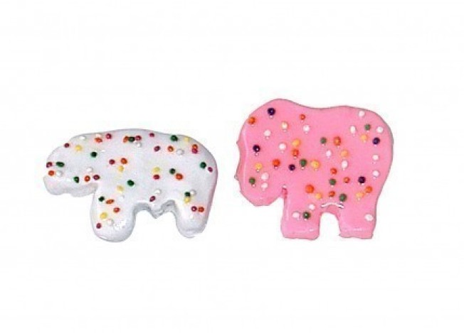 Frosted Animal Cookie Brooches