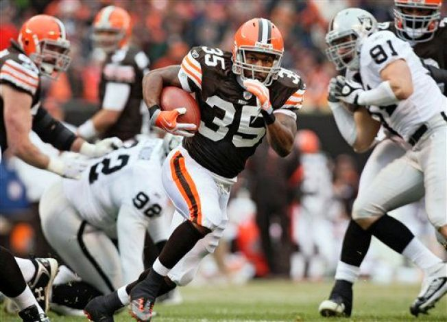 Raiders Run Down by Browns