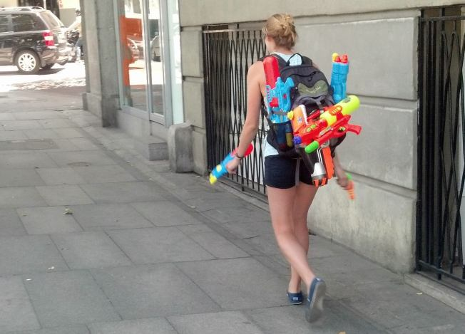 Stay Dry or Else! Water Gun-Toting Assassins to Invade San Francisco