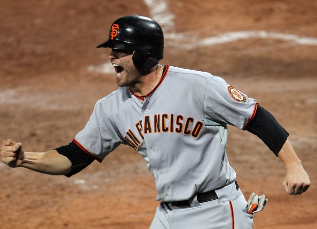 Giants Can Clinch Tonight