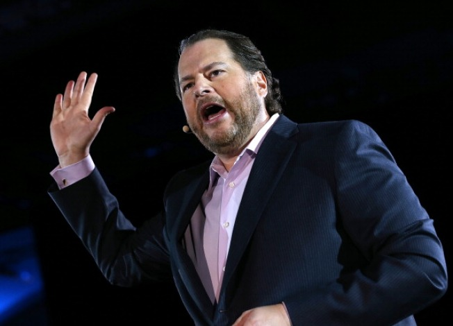 Marc Benioff Calls On Tech To Give Back -- Big
