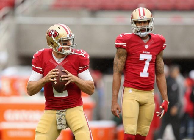 49ers Quarterback Battle an 'Ongoing Process'