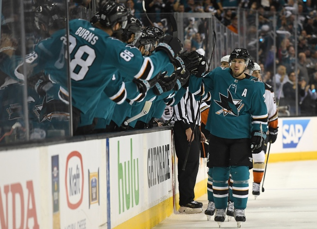 PHOTOS: Best Moments From Sharks' Playoff Games