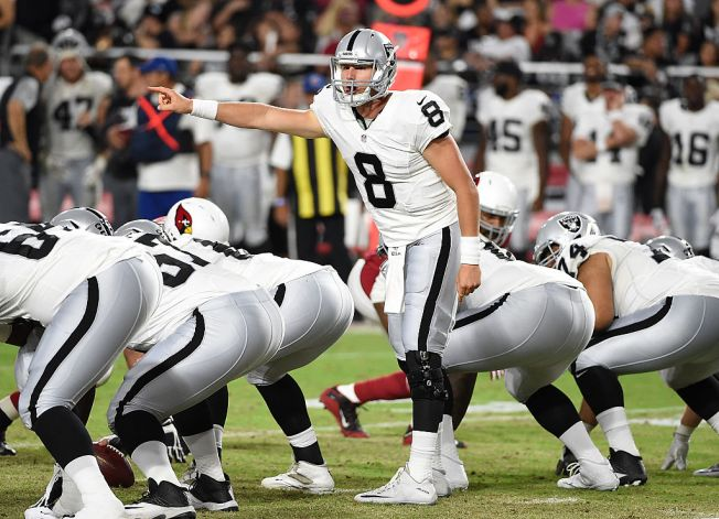 Cook Shakes Off Jitters to Play Well in Raiders Debut