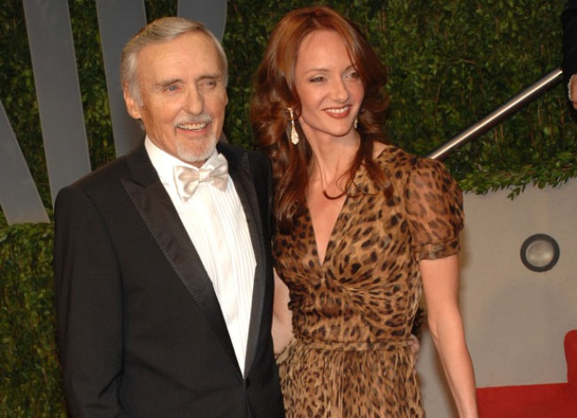 Dennis Hopper's Wife Offers Well Wishes For Ailing Actor Amid Bitter Divorce Battle