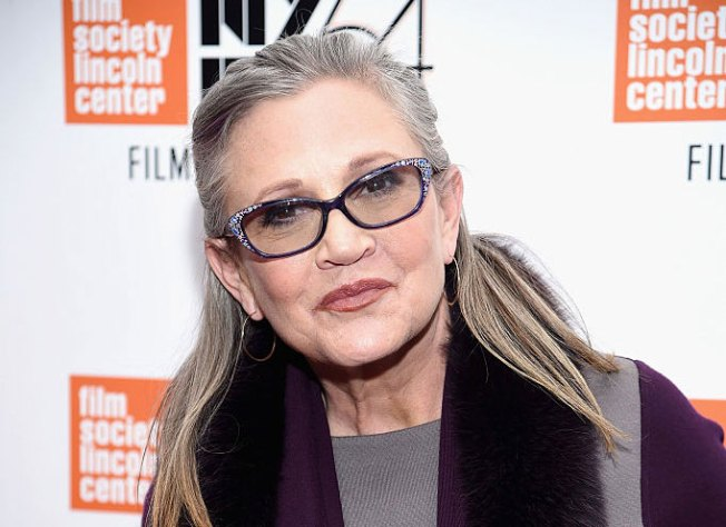Carrie Fisher hospitalized after suffering heart attack on plane