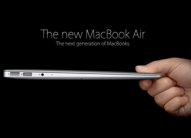 "Apple's New MacBook Air: ""If an iPad and a MacBook Hooked Up"""