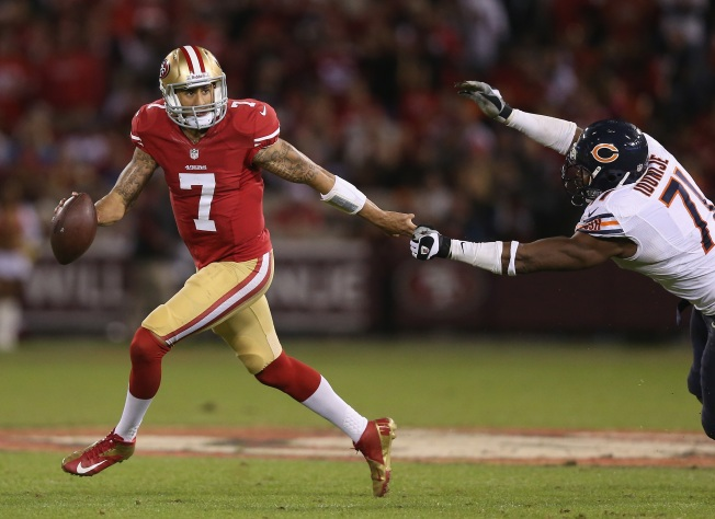 Kaepernick a Candidate for ESPYs' Best Breakthrough Athlete