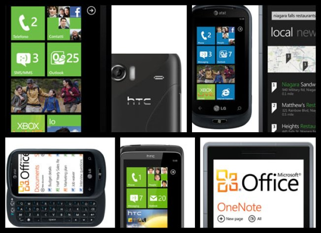 Hands-on With All Nine Windows Phone 7 Devices