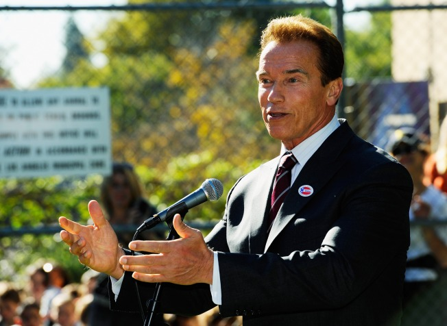 Arnold Back on the Green Beat