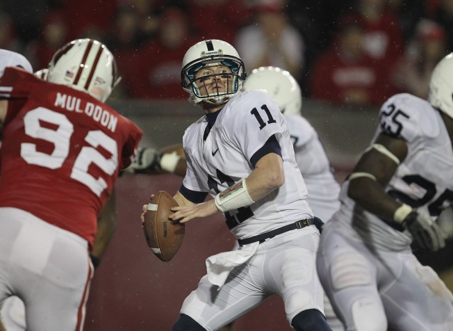 "McGloin Now ""One Play Away"" From Leading Raiders"