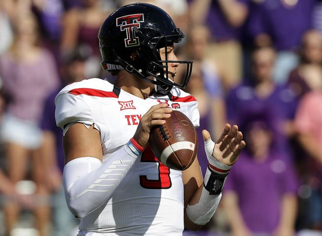 Texas Tech QB Could be in 49ers' Sights for Second Round