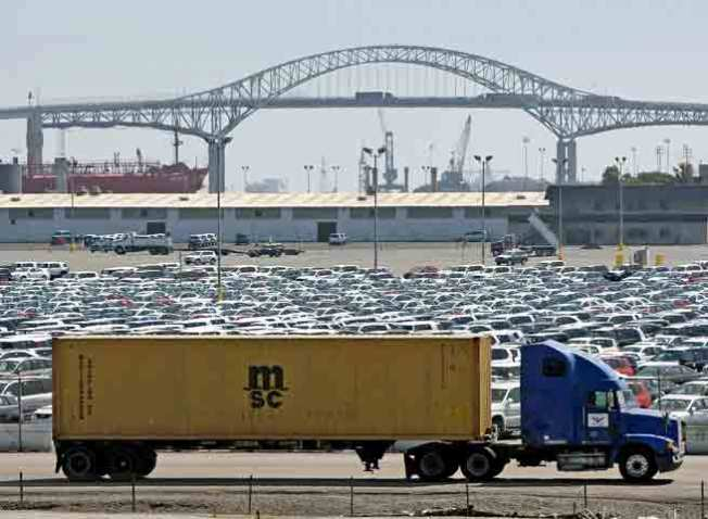 Auto Slow Down Starts to Stack Up At Calif. Ports