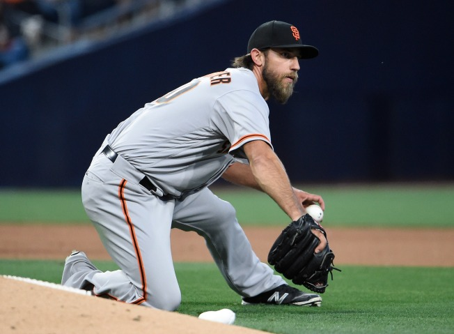 Offense Goes Flat for Bumgarner, Giants Lose Fourth Straight