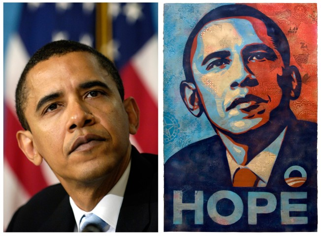 Iconic Obama Image Is a Rip-Off, AP Claims