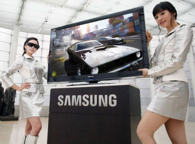 Don't Expect 3D TVs Without the Glasses for 5 to 10 Years, Samsung Says