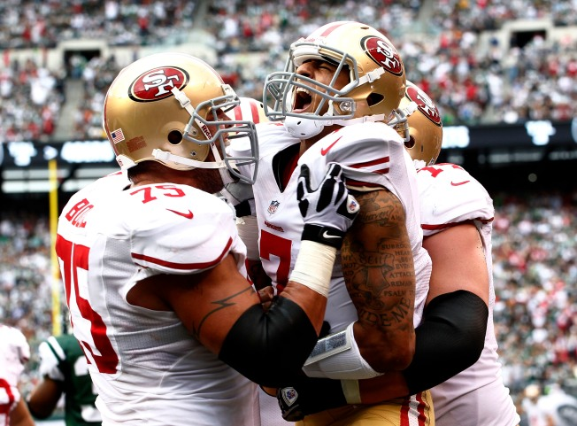 Alex Boone is Right Man for 49ers at Right Guard