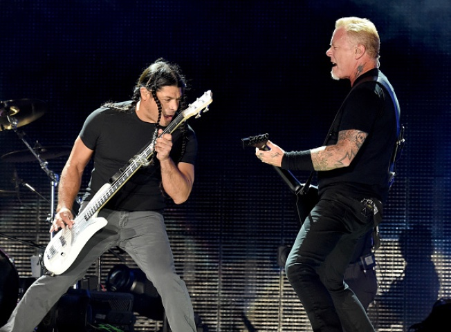 Metallica Headlines Wildfire Relief Concert