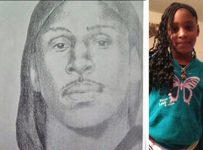 Suspect Sketch Released in Death of Girl, 8, Killed at Oakland Sleepover
