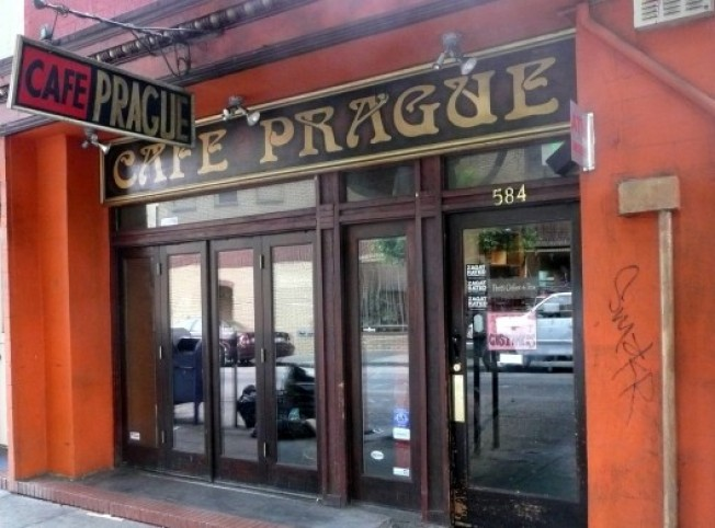The Shutter: Cafe Prague Goes Down For Retrofit