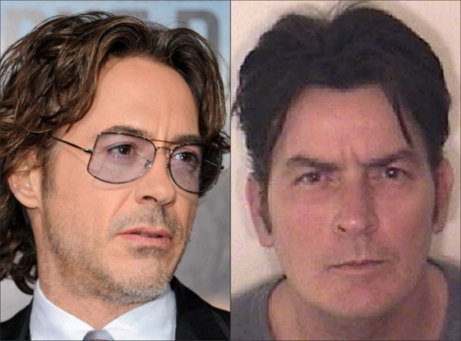 "Robert Downey: ""I'd Like to Talk to Charlie Sheen"""