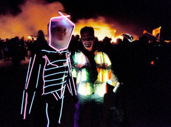 New Tech on the Playa as Burning Man Gears Up