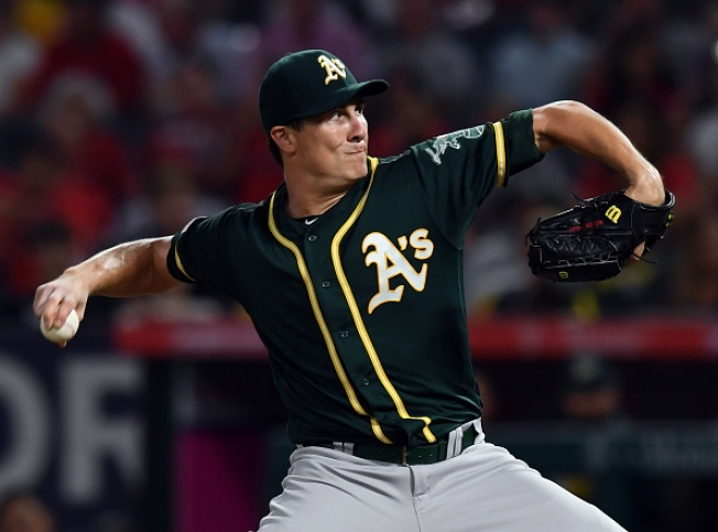 A's, in Pursuit of Wild Card, Fall to Angels