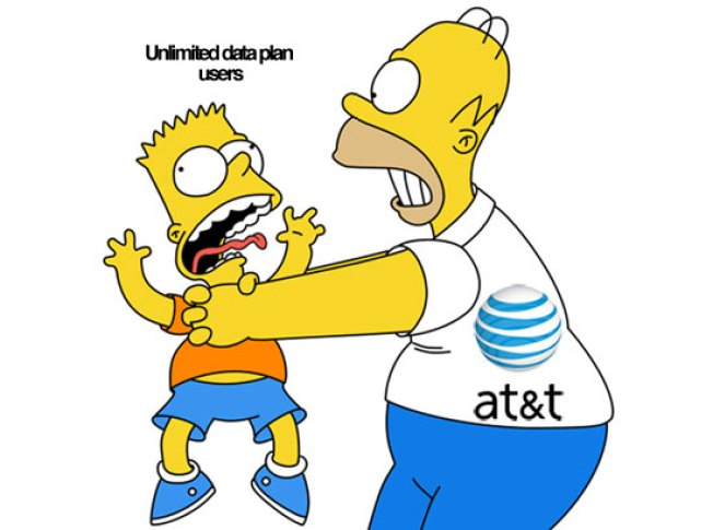 AT&T's Reveals New Rules for Throttling Old Unlimited Data Plans