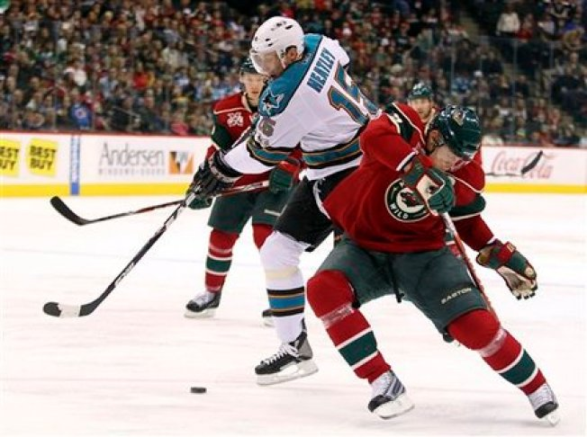 Sharks Lose After Wild 3rd Period