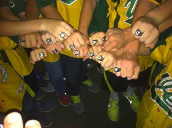 Petaluma Kids Get Little League World Series Rings