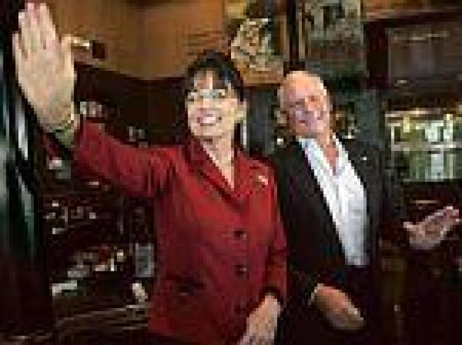 Your Waitress Today is Sarah Palin:  A restaurant Obama supporters might...