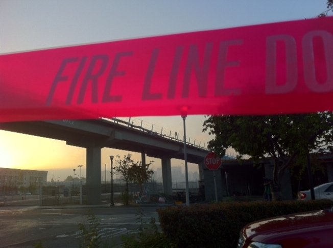 BART Delay Caused by Arson