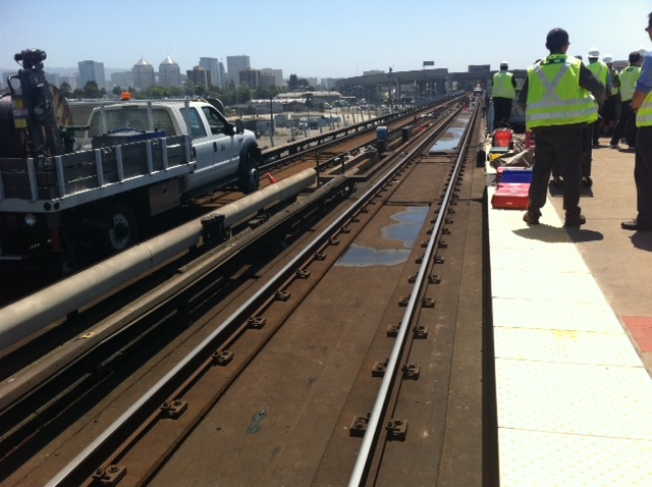 Man Arrested After Jumping on BART Trains, Tracks