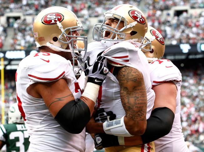 Offensive Line is the Cutting Edge to 49ers' Offense