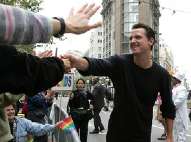 Newsom Hangout Hosts Ousted Staffers' Party
