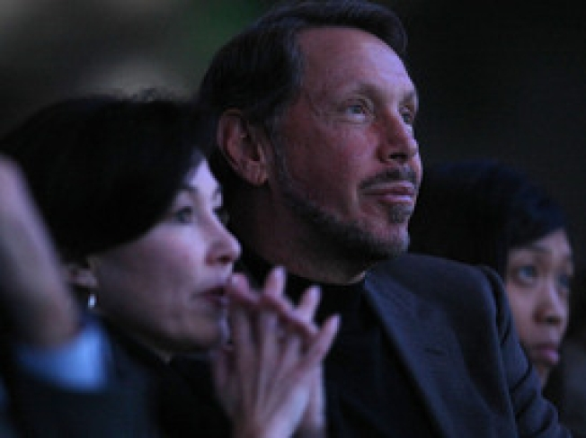 Larry Ellison Makes Short List for Warriors Bid