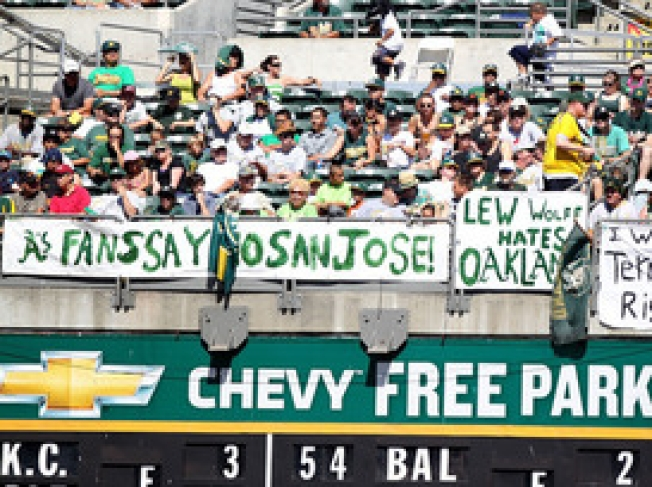 Rumors Fly That MLB Will Make A's Stay Put