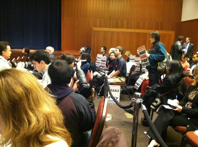 UC Regents' Meeting Disrupted By Protesters -- Again