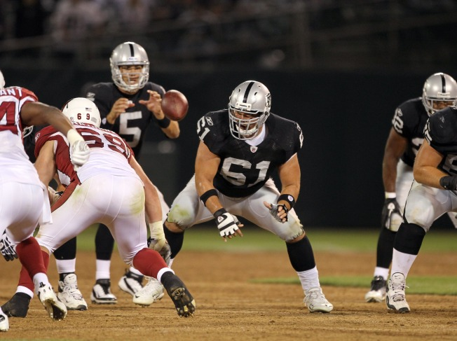Raiders' Offensive Line Leading the Way