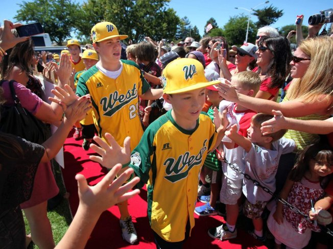 Petaluma National Little League Celebration March 1