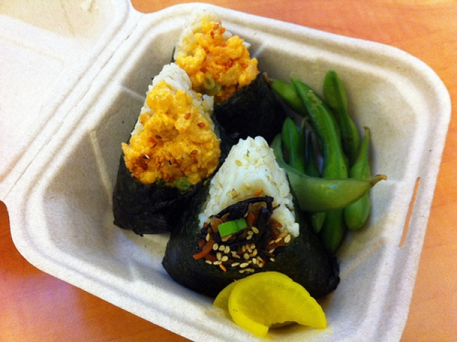 Onigiri Food Cart Opens in San Francisco