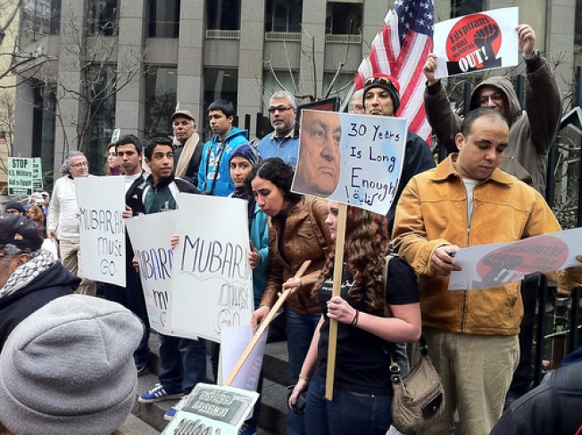 SF Demonstrators Protest Egyptian Government