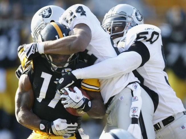 Raiders' Next Foe Steelers All Banged-Up